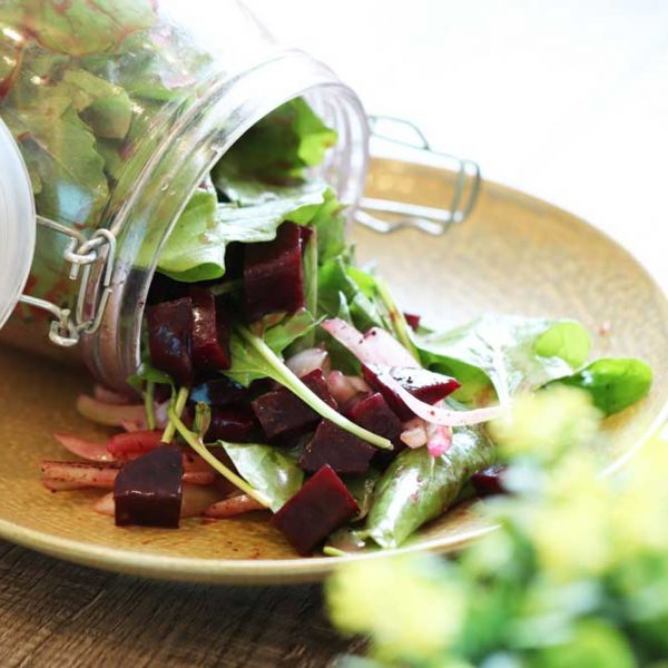 Rocca and Betroot Salad