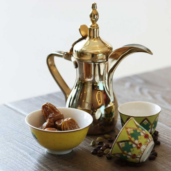 Arabic Coffee (Served with dates)