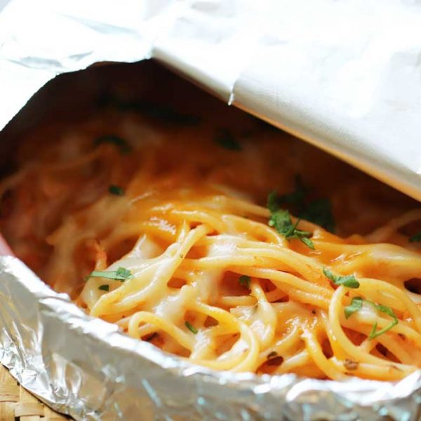 Baked cheesey Pasta