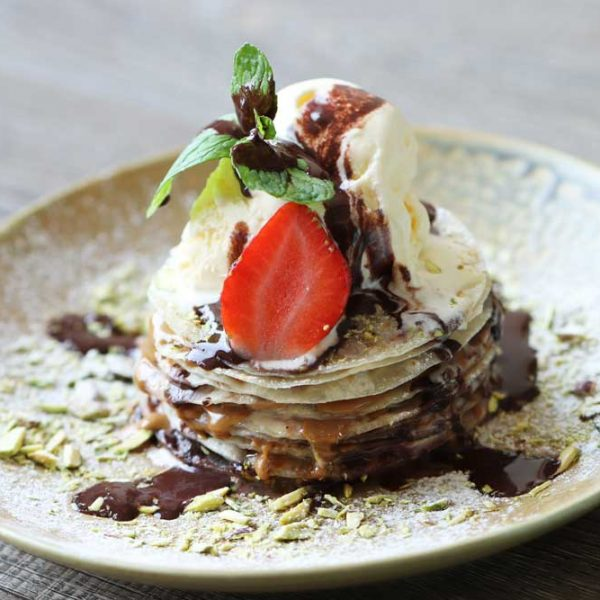 Chapati Mille Feuille